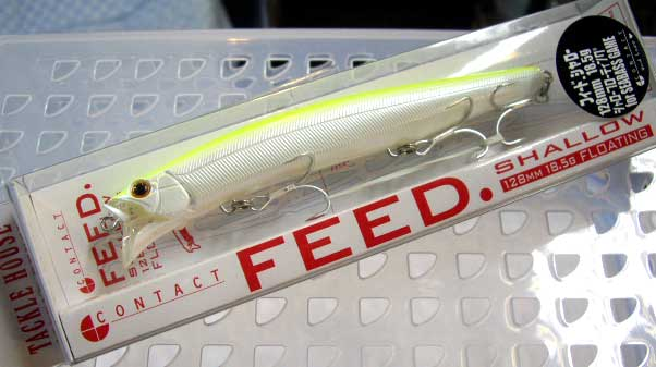 FEED SHALLOW 128 18.5g #2 PEARL CHART TACKLE HOUSE