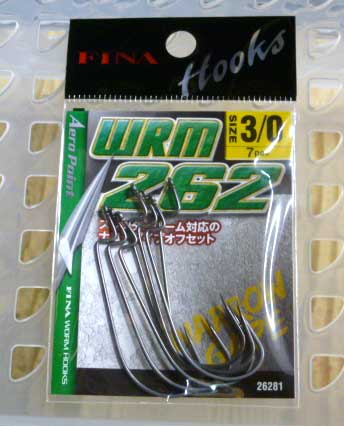 6 Size 3//0 Custom Offshore Tackle Non Offset Extended Shank Worm Hooks Black